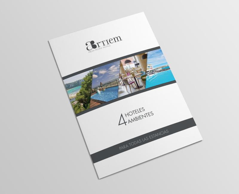 Connu Mise en page Brochure pour hôtels de luxe - Trank Studio EL64