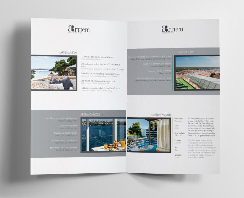 Bien connu Mise en page Brochure pour hôtels de luxe - Trank Studio VS48