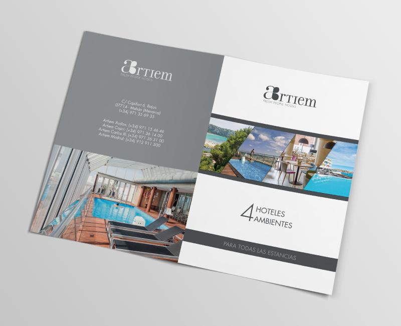 Top Mise en page Brochure pour hôtels de luxe - Trank Studio GE31